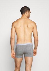 Pier One - 5 PACK - Underkläder - black/mottled grey - 1