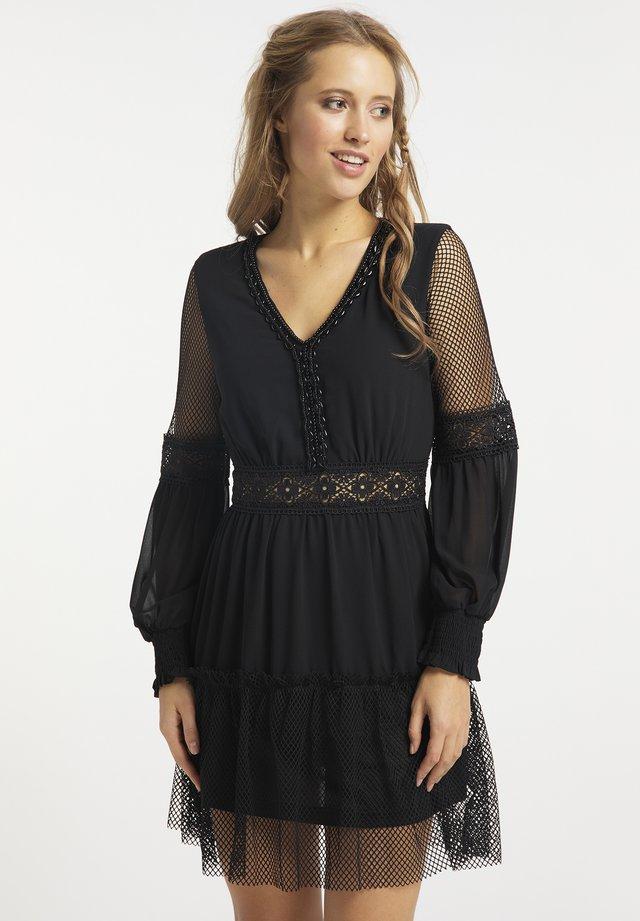Sukienka letnia - schwarz