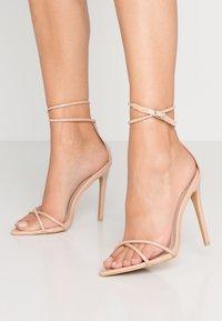 Glamorous - Sandales à talons hauts - nude - 0