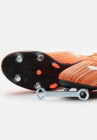 Puma - ULTRA 4.1 MXSG - Screw-in stud football boots - shocking orange/black - 5