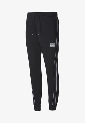 AVENIR - Tracksuit bottoms - black