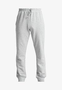 Fila - WILMET PANTS - Träningsbyxor - light grey melange - 4