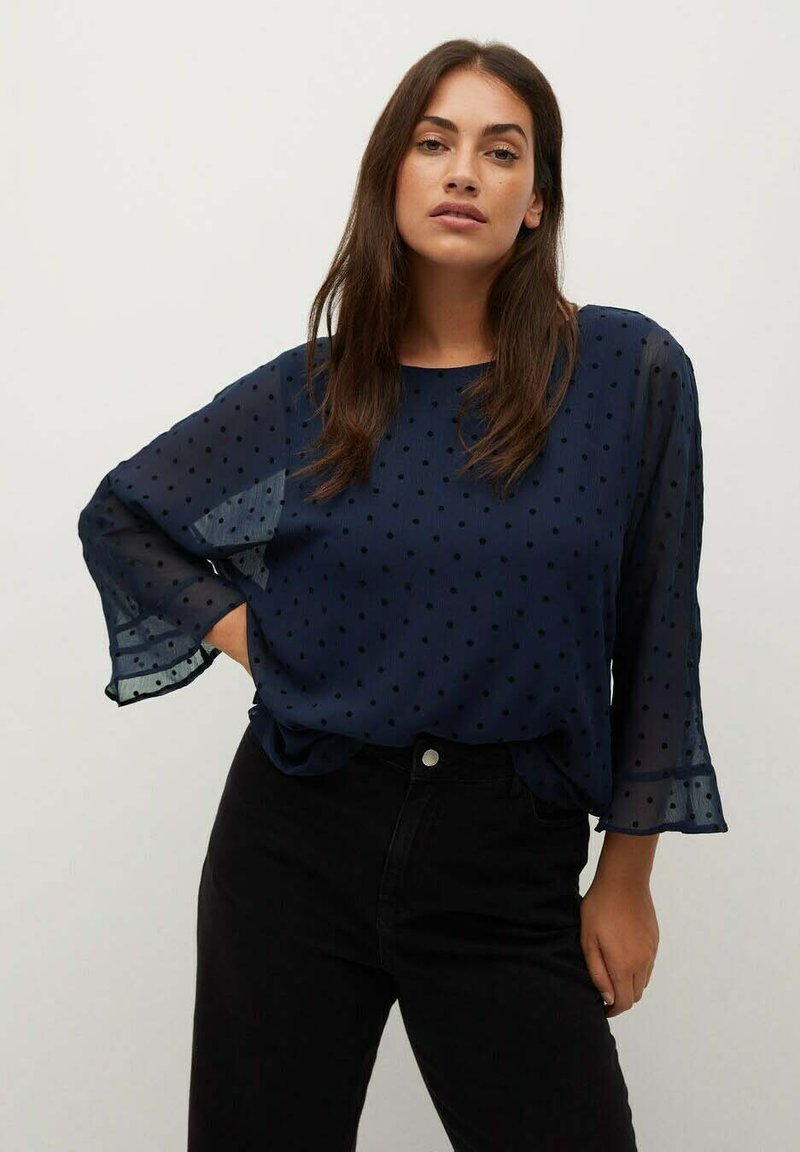 Violeta by Mango - CAPA8 - Blouse - dark navy