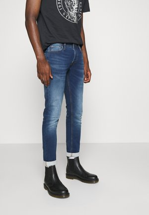 JJIGLENN JJORIGINAL - Vaqueros slim fit - blue denim