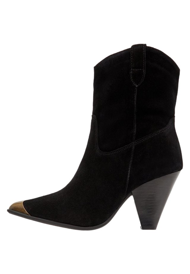 BIADEVI ANKLE BOOT - Santiags - black1