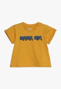 Cotton On - JAMIE SHORT SLEEVE TEE BABY - T-Shirt print - yellow - 0