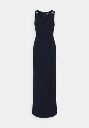 CLASSIC LONG GOWN   - Žerzejové šaty - lighthouse navy