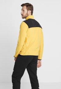 The North Face - GLACIER SNAP-NECK  - Fleecetrøjer - yellow/black - 2
