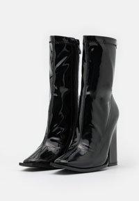 Koi Footwear - VEGAN  - Ankelboots med høye hæler - black - 2