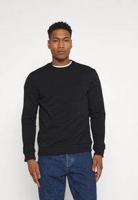 Only & Sons - ONSCERES LIFE CREW NECK 2 PACK - Sweatshirt - black - 5