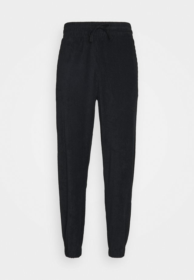 TOWELLING  - Tracksuit bottoms - black