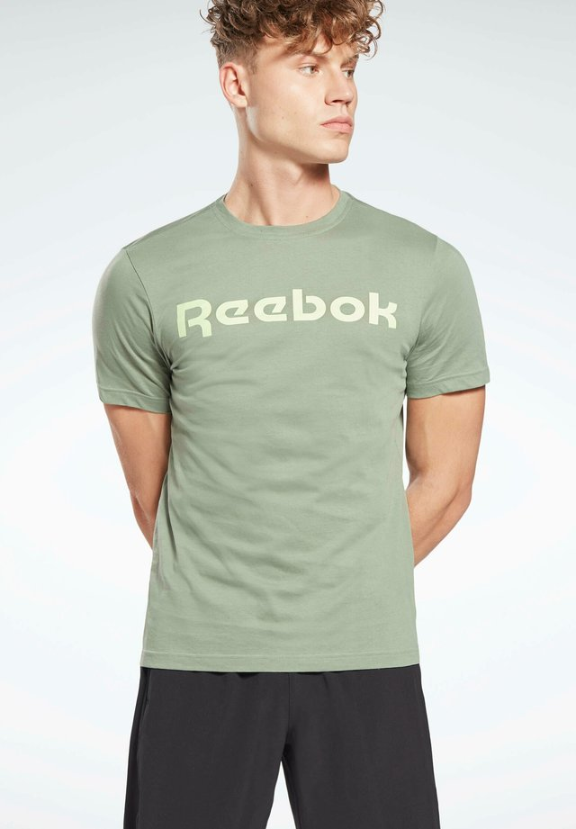 ELEMENTS SPORT SHORT SLEEVE GRAPHIC TEE - T-shirt print - green