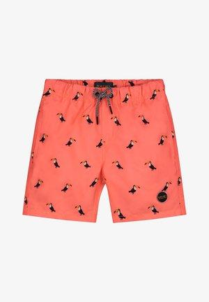 TUCAN - Swimming shorts - neon orange