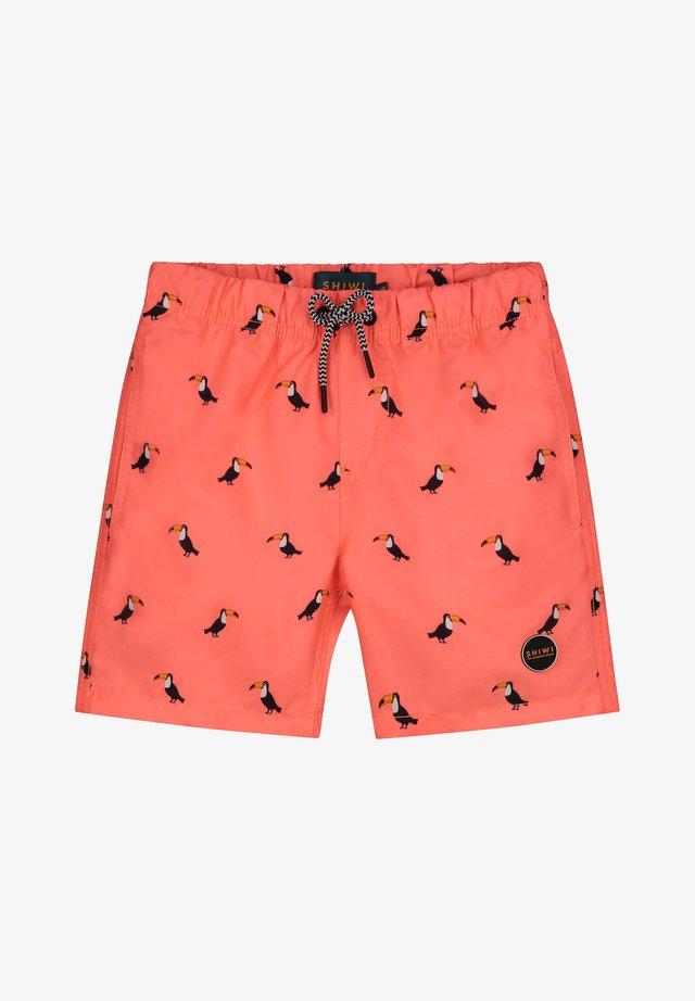 TUCAN - Zwemshorts - neon orange
