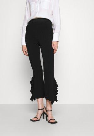 EMILY PANT - Pantalon classique - black