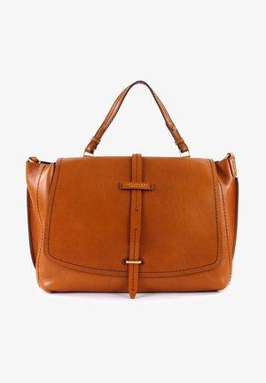 DALSTON DOUBLE FUNCTION - Across body bag - cognac