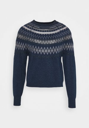 PANDA - Jumper - navy blue