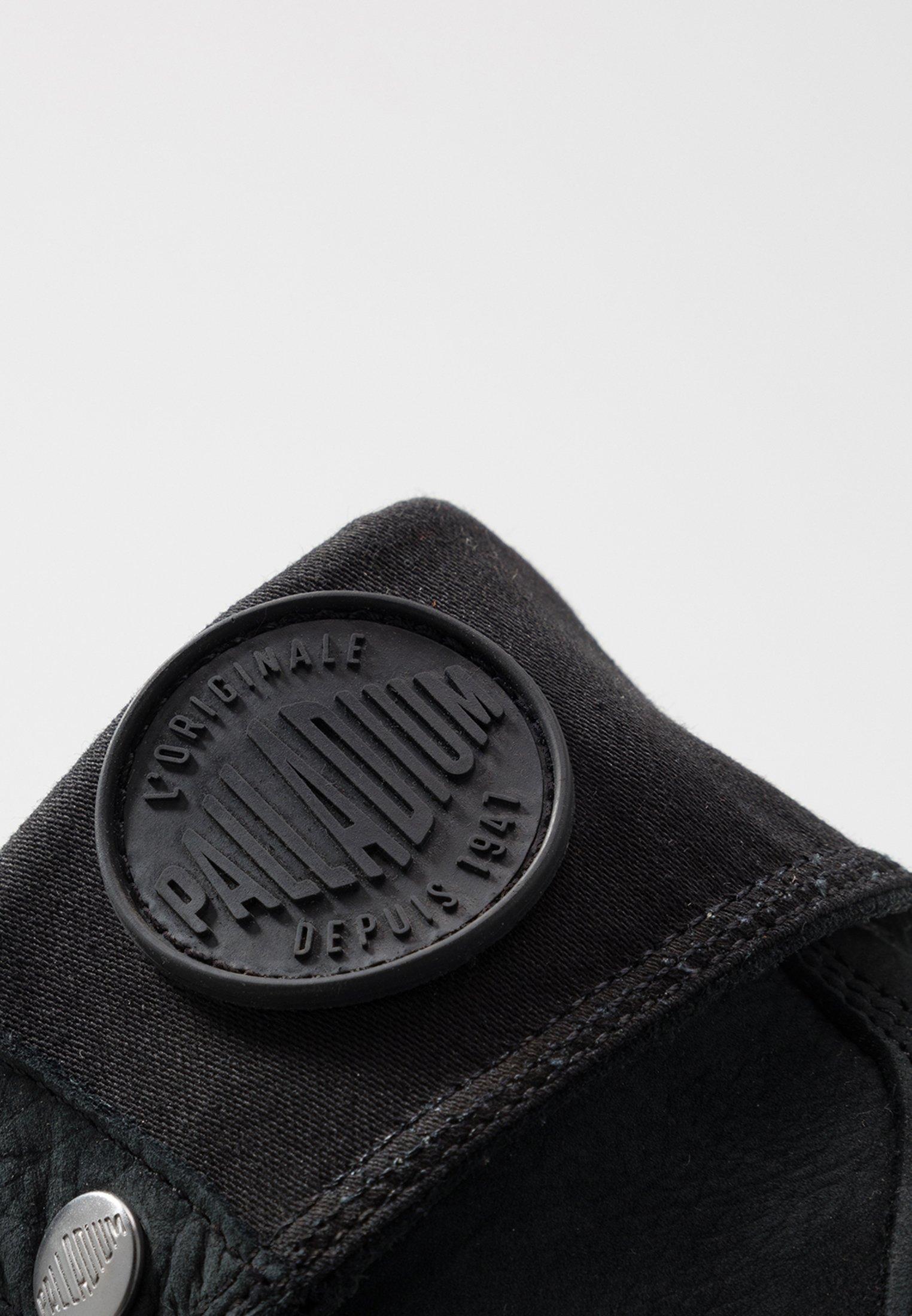 Palladium BAGGY NUBUCK Schnürstiefelette black/schwarz