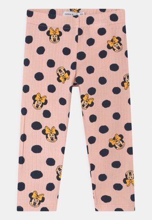 NMFMINNIE FAYA  - Leggings - Trousers - peach whip