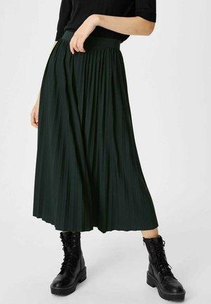 A-line skirt - dunkelgrün