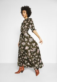 Kaffe - KAVELANA DRESS - Maxi-jurk - grape leaf - 1