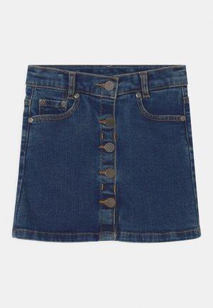 Minirok - blue denim