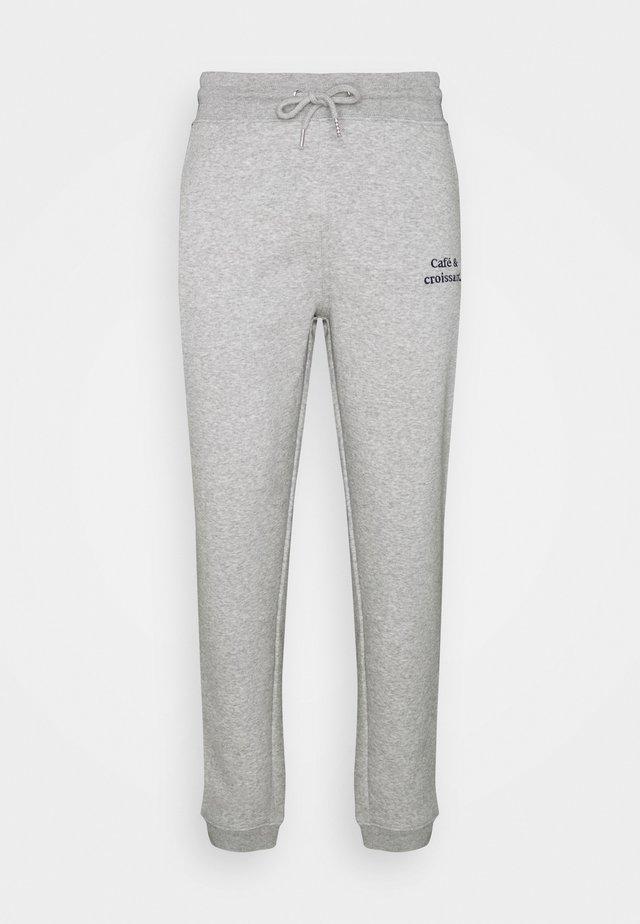 JOGGER CAFÉ CROISSANT UNISEX - Pantaloni sportivi - heather grey