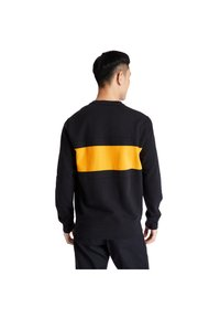 Timberland - CUT AND SEW CREW - Sweatshirt - black-dark cheddar - 2