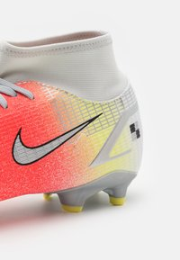 Nike Performance - MERCURIAL 8 ACADEMY MDS FG/MG - Moulded stud football boots - white/bright mango - 5