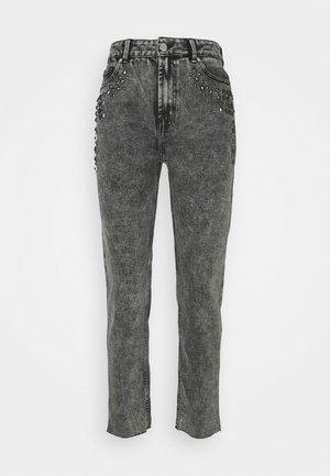 ONLWILD EMILY - Straight leg jeans - grey denim