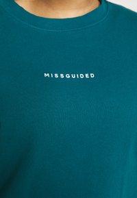 Missguided Plus - WASHED BASIC  - Sweatshirt - blue - 5