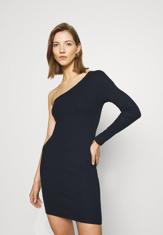 TWO PIECE DRESS - Freizeitkleid - offblack