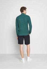 Pier One - Cardigan - mottled dark green - 2