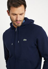 Lacoste - Zip-up hoodie - marine - 4