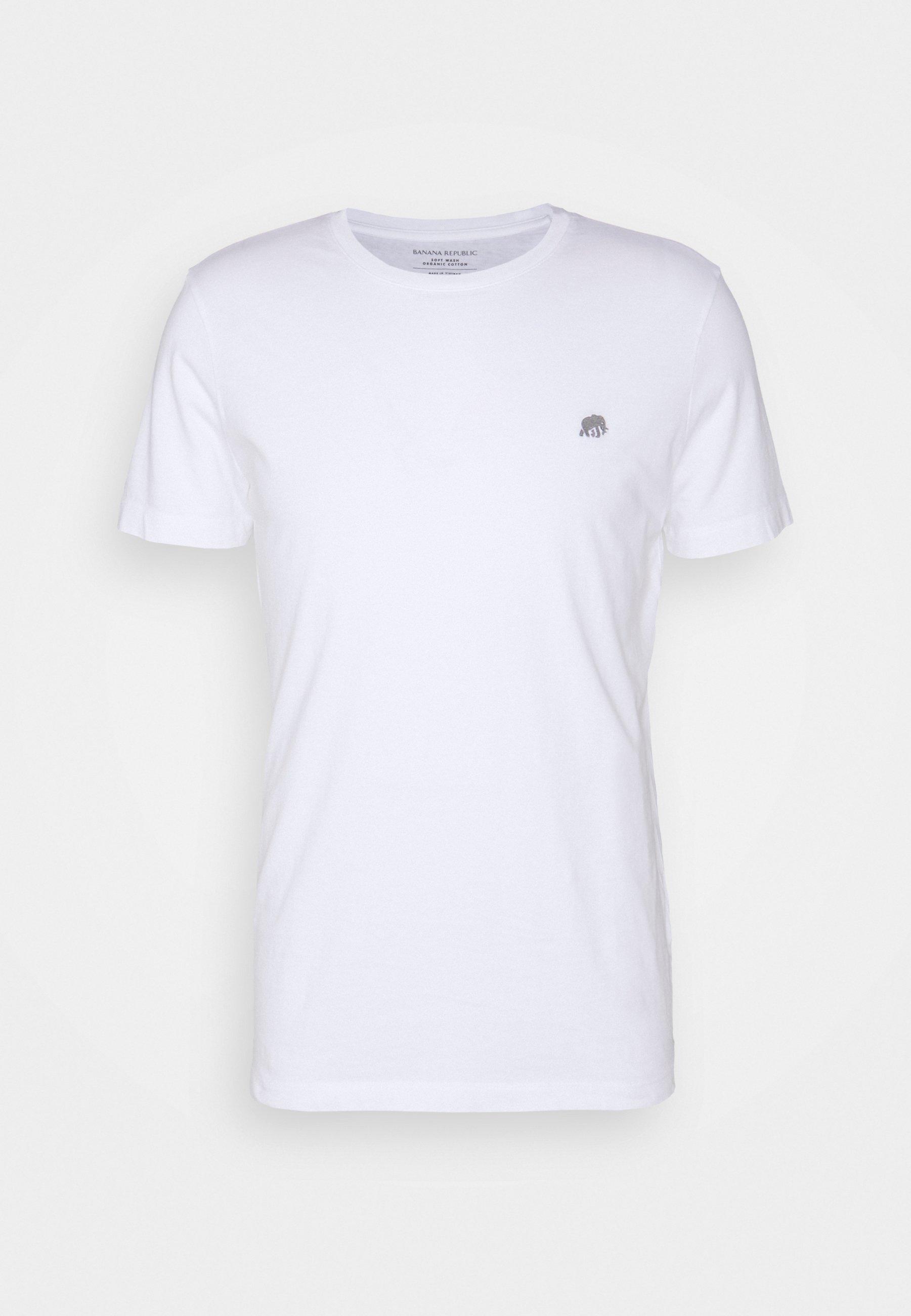 Homme LOGO SOFTWASH ORGANIC TEE - T-shirt basique