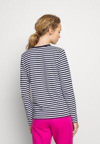 Polo Ralph Lauren - Long sleeved top - dark blue/white - 2