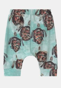 Walkiddy - BAGGY SEA TURTLES UNISEX - Trousers - blue - 1