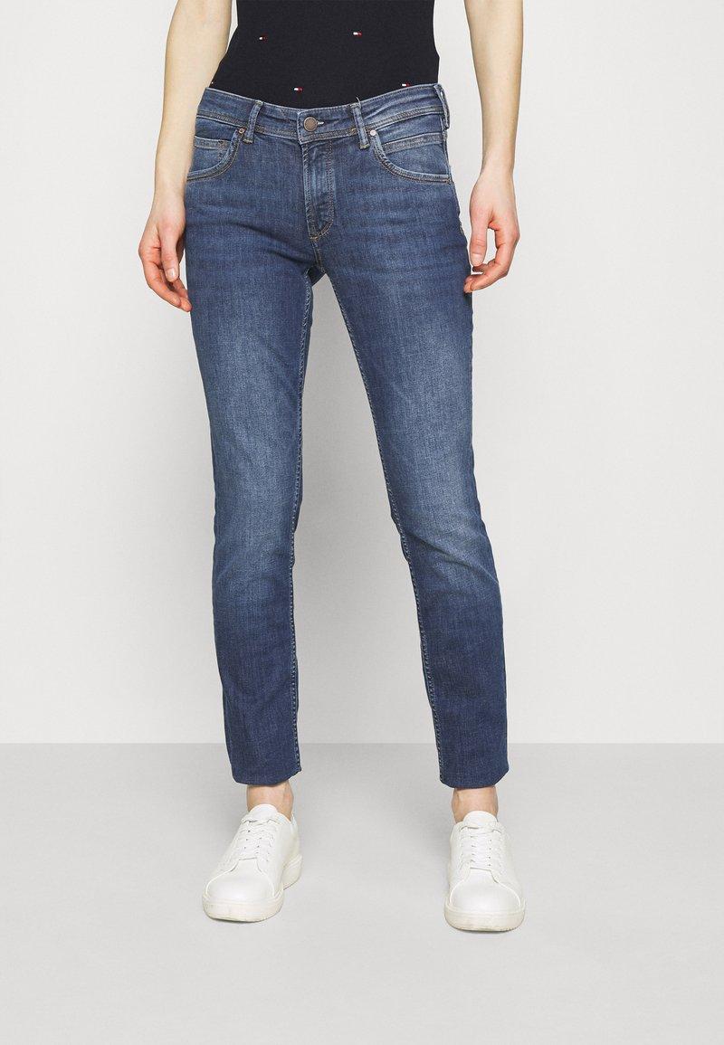 Marc O'Polo DENIM - ALVA - Slim fit jeans - true indigo mid blue