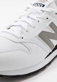 New Balance - 500 - Zapatillas - white - 5