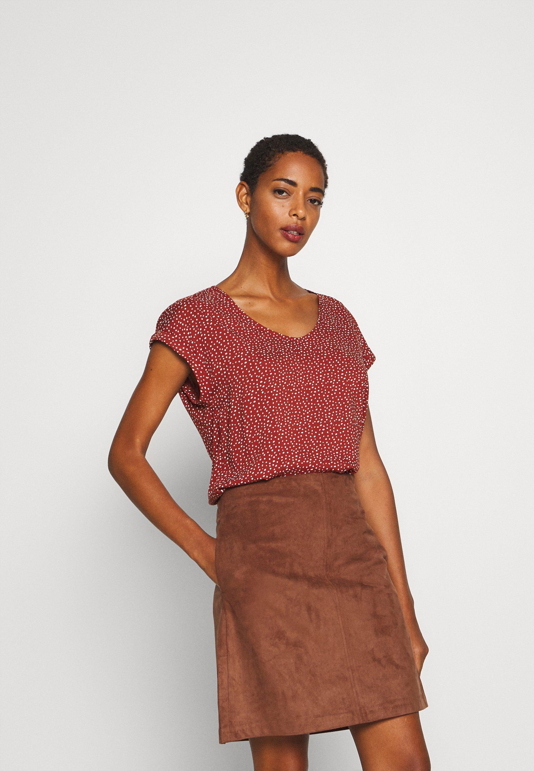 Damen PRINTED SPORTY BLOUSE - Bluse