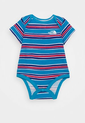 INFANT ONE PIECE UNISEX - Triko s potiskem - blue/light blue
