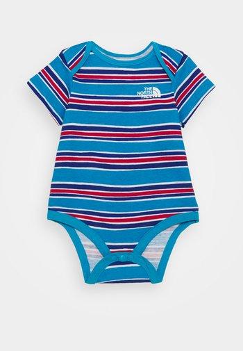 INFANT ONE PIECE UNISEX - Print T-shirt - blue/light blue