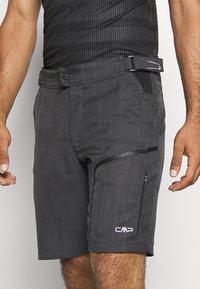 CMP - MAN FREE BIKE BERMUDA WITH INNER UNDERWEAR - kurze Sporthose - nero - 3