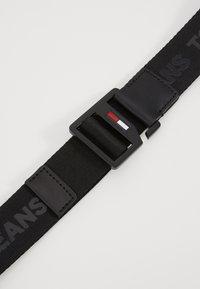 Tommy Jeans - DRING BELT  - Pásek - black - 4