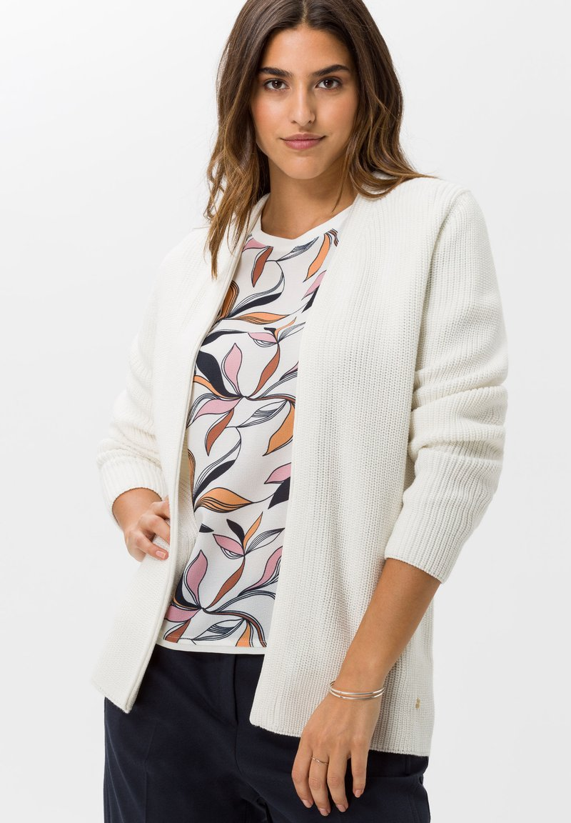BRAX - STYLE ANIQUE - Cardigan - ivory