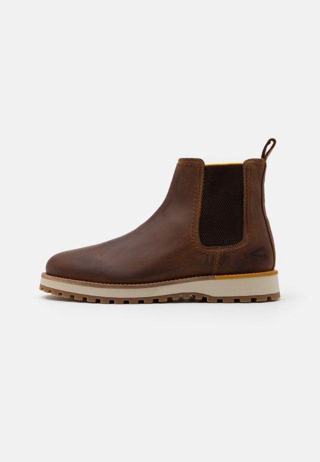 PILGRIM - Classic ankle boots - cognac