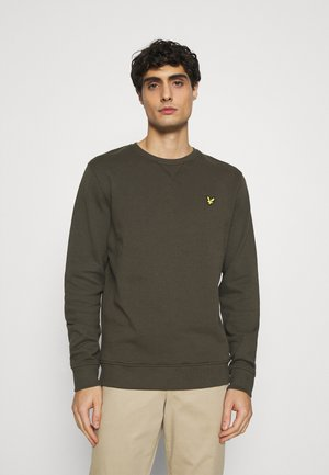 CREW NECK - Sweatshirt - trek green