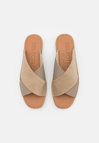Selected Homme - SLHJOSE STRAP - Pantofle - sand - 3