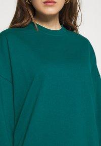 Even&Odd - BASIC OVERSIZE SWEATSHIRT - Sweatshirt - teal - 5