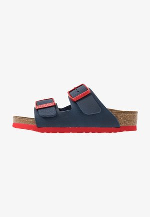 ARIZONA - Slippers - blue/red